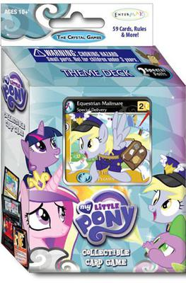 My Little Pony CCG Crystal Games Theme Deck: Cutie Mark Crusaders & Princess Cadance