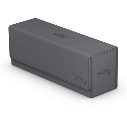 Ultimate Guard Deck Box, Arkhive Flip Case XenoSkin 400+ Grey