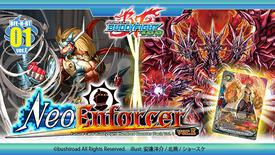 Future Card Buddyfight New Series Set 1: Neo Enforcer ver.E Booster