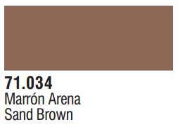 Vallejo Model Air: Sand Brown 71.034