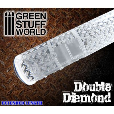 Rolling Pin: Double Diamond