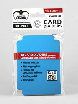 Ultimate Guard Card Dividers - Blue (10pcs)