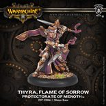Protectorate of Menoth Warcaster Thyra, Flame Of Sorrow