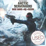 Arctic Scavengers: Base Game+HQ+Recon *USED*