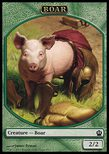 Boar TOKEN 2/2 - Theros