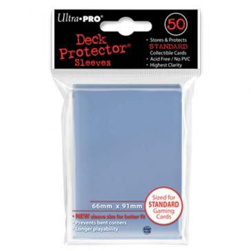 Ultra Pro Sleeves Standard Size Clear (50ct)