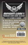 Mayday Games Boardgame Sleeves 61x103 mm (50 pcs)