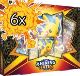 Pokemon Shining Fates Collection Pikachu V (6 pcs Bundle)