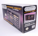 Nintendo NES Cartridge Cabinet (For 18 games). Wood.