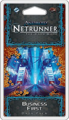 Android Netrunner LCG: Business First Data Pack
