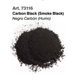 Vallejo Pigments: Carbon Black (Smoke Black) 73116