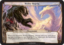 Reality Shaping
