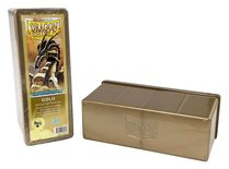 Dragon Shield Deck Box, 4 Compartment, Gold