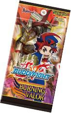 Future Card Buddyfight Character Pack 1: Burning Valor Booster