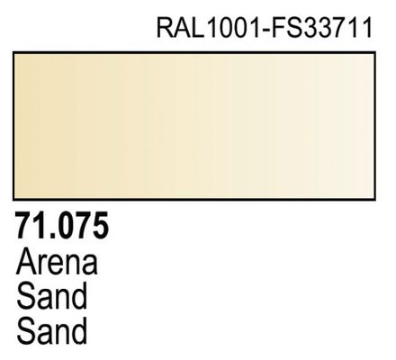 Vallejo Model Air: Sand (Ivory) 71.075