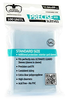 Ultimate Guard Sleeves Precise Fit (100pcs, same as Perfect Size)