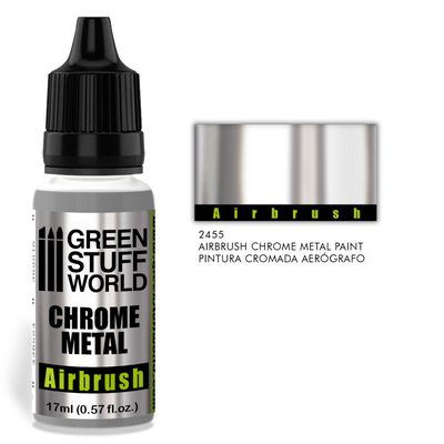 GSW Chrome Metal Paint for Airbrush 17ml