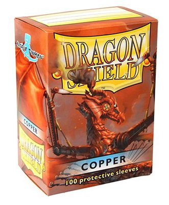 Dragon Shield Sleeves Standard Size Copper (100ct)