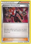 Lysandre Trump Card 99/119 - X&Y Phantom Forces