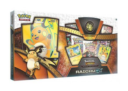 Pokemon Collection Box: Raichu GX