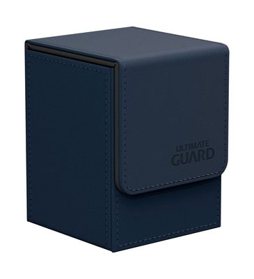 Ultimate Guard Deck Box, Flip Deck Case 100+ Dark Blue