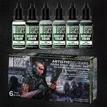 GSW Artistic Colours Paint Set: NMM Steel and Silver