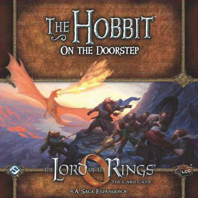 Lord of the Rings LCG: The Hobbit - On The Doorstep Saga Expansion