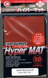 KMC Sleeves Hyper Matte Red (80pcs)