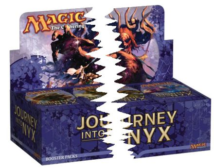 Journey into Nyx Booster Half Box