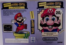 Mario Bros. (Original YAPON Rental Cover Paper)