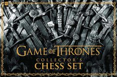 Game of Thrones Collector's Chess Set (PREORDER)