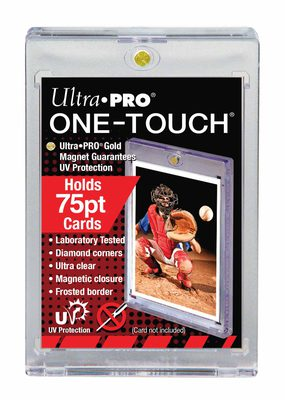 Ultra Pro One Touch Magnetic Card Holder 75pt