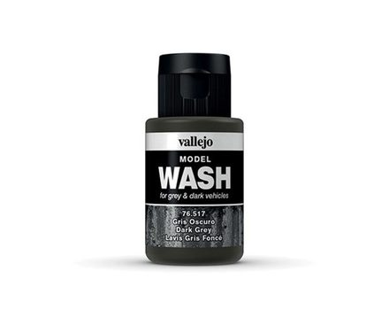Vallejo Model Wash: Dark Grey