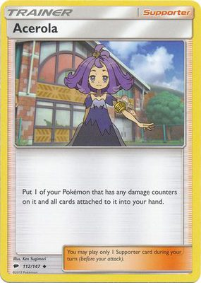 Acerola 112/147 - Sun & Moon Burning Shadows