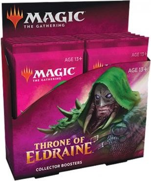 Throne of Eldraine Collector Booster Display Box (12 Boosters)