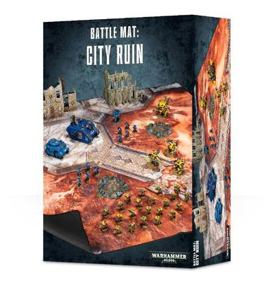 Warhammer 40,000 Battle Mat: City Ruin