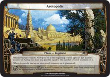 Aretopolis - Planechase Planes and Phenomenons