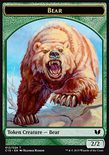 Bear 2/2 // Spider 1/2 TOKEN - Commander 2015