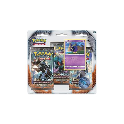 Pokemon SM3: Sun & Moon Burning Shadows 3-pack Blister Cosmog