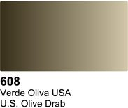 Vallejo Surface Primer: UK Olive Drab 70.608