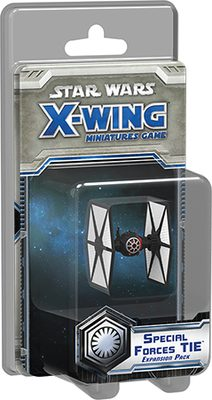 Star Wars X-Wing Miniatures Game: Special Forces TIE Expansion Pack