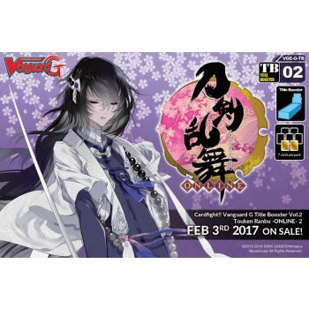 Cardfight Vanguard G Title Set 2: Touken Ranbu -ONLINE- 2 Booster Display Box