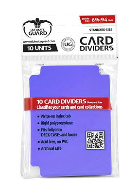 Ultimate Guard Card Dividers - Purple (10pcs)