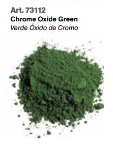Vallejo Pigments: Chrome Oxide Green 73112