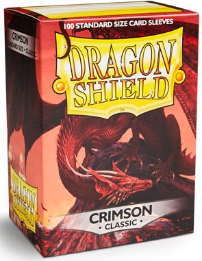 Dragon Shield Sleeves Standard Size Crimson (100ct)
