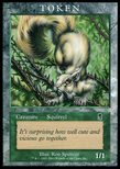Squirrel TOKEN 1/1 (2002) - Player Rewards Promot