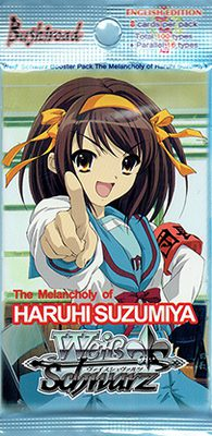 Weiss Schwarz: The Melancholy of Haruhi Suzumiya Booster