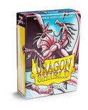 Dragon Shield Small Sleeves, Matte Pink (60pcs)