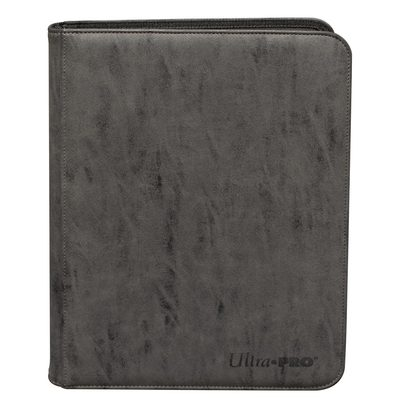 Ultra Pro Suede Collection Zippered 9-pocket Pro Binder Jet
