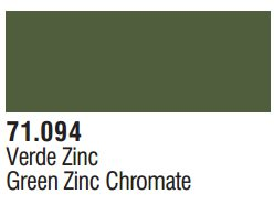 Vallejo Model Air: Green Zinc Chromate 71.094